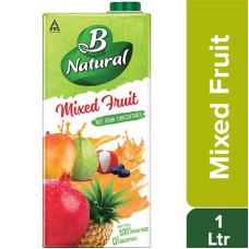 B Natural Juice Mix Fruit 1Ltr