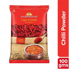 Aashirvaad Powdered Spices Chilli 100G